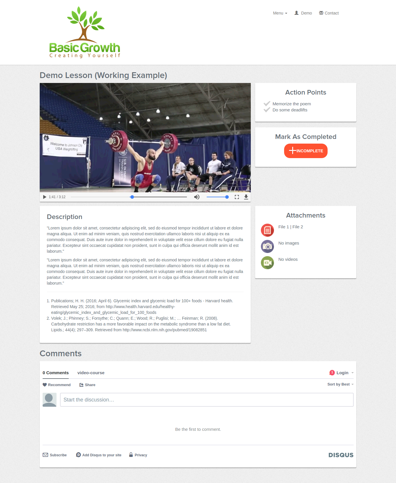 Video Course App - Webdesign Mechelen