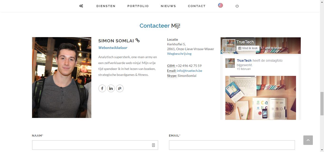 TrueTech Redesign - Webdesign Mechelen
