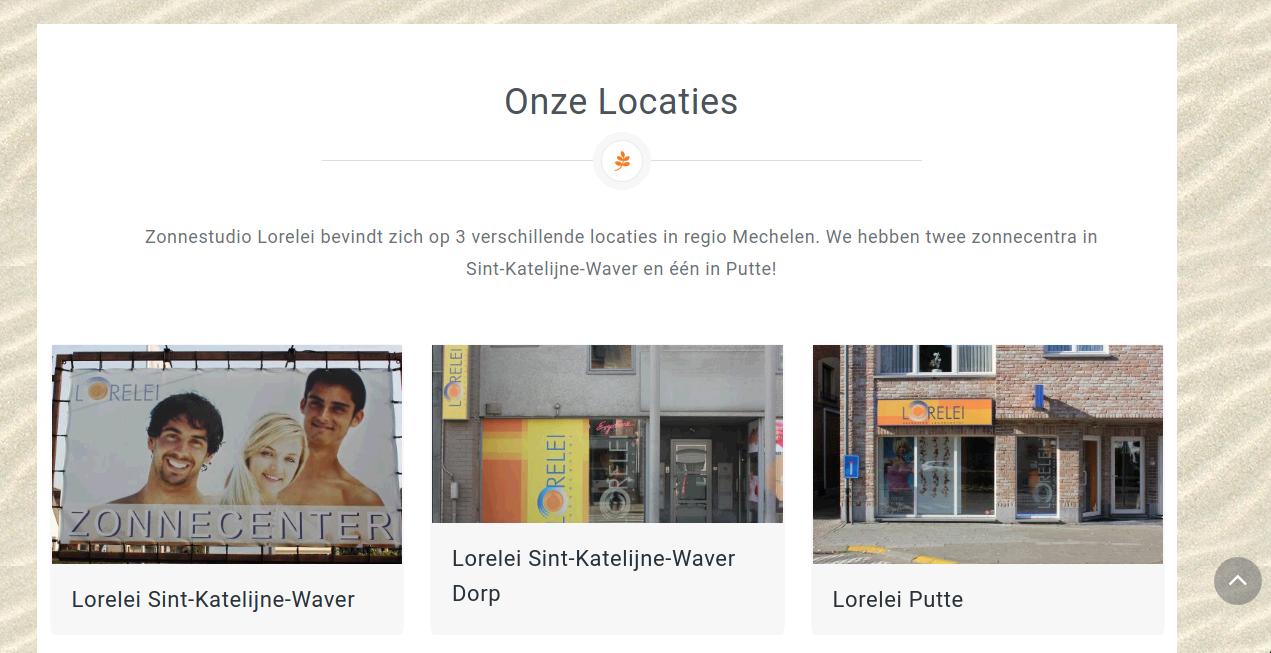 Esthetiek Lorelei - Webdesign Antwerpen