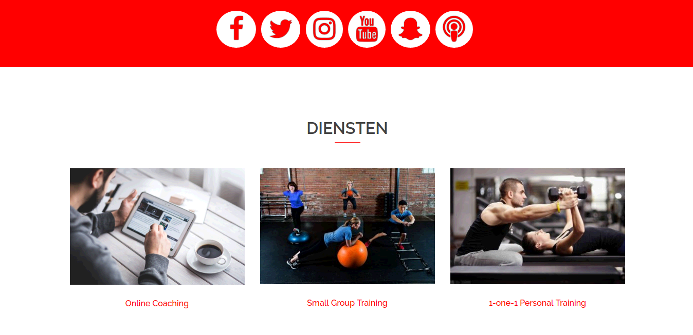 Science Based Training - Webdesign Mechelen