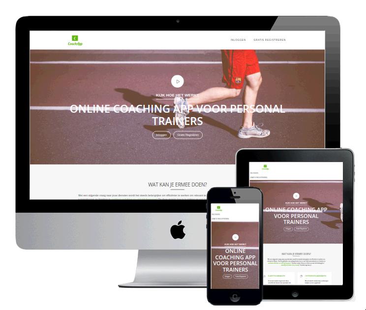 CoachApp - Webdesign Antwerpen